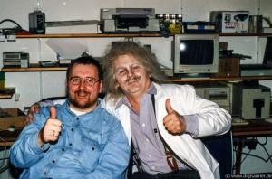AK-CD-ROM-Dreh mit Jochen und Einstein (1 von 1)
