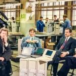 """Talkrunde der ersten """"Neues...die Computershow"""" 1992. Unter anderem mit Helmut Jost von Commodore"""