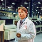 Bei IBM in Grennock - Dreharbeiten für Neues... die Computershow