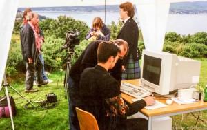 """CorelDRAW Maltest in Schottland. Ein typischer """"Neues..."""" Test..."""