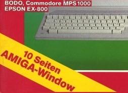10 Seiten Amiga-Window