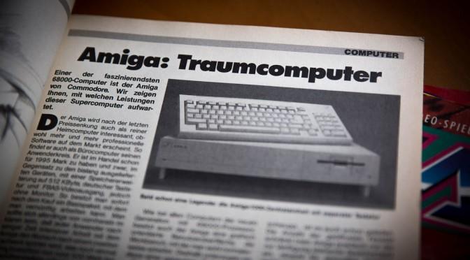 Mein Amiga 500 – lange gewollt, kaum benutzt