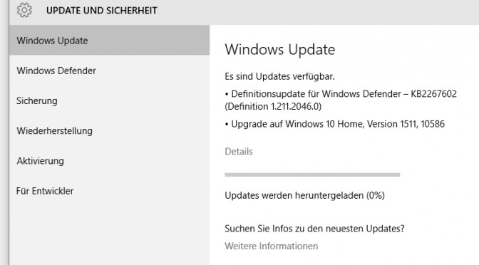 Windows 10: Nachhause telefonieren