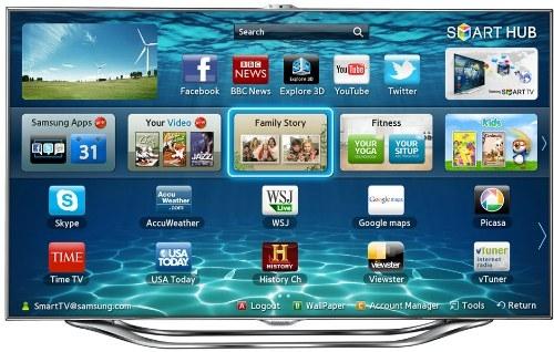 Samsung SmartTV - Benutzeroberfläche