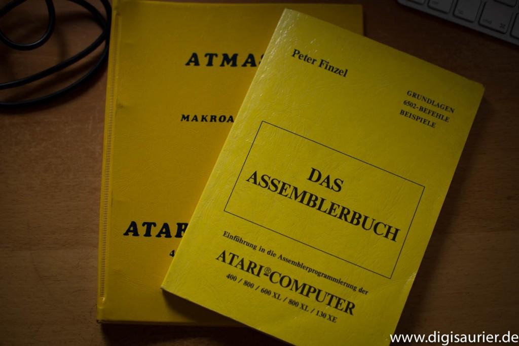 ATMAS Atari Assembler und Lehrbuch