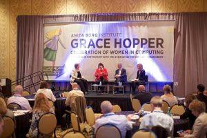 """""""Grace Hopper Celebration of Women in Computing"""", das weltweit größte Treffen von Informatikerinnen. (C) ghc.anitaborg.org"""