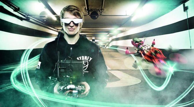 Erstes Drohnenrennen auf der ILA (Foto (c) Messe Berlin)