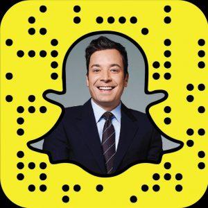 Das ist der Snapcode von Jimmy Fallon