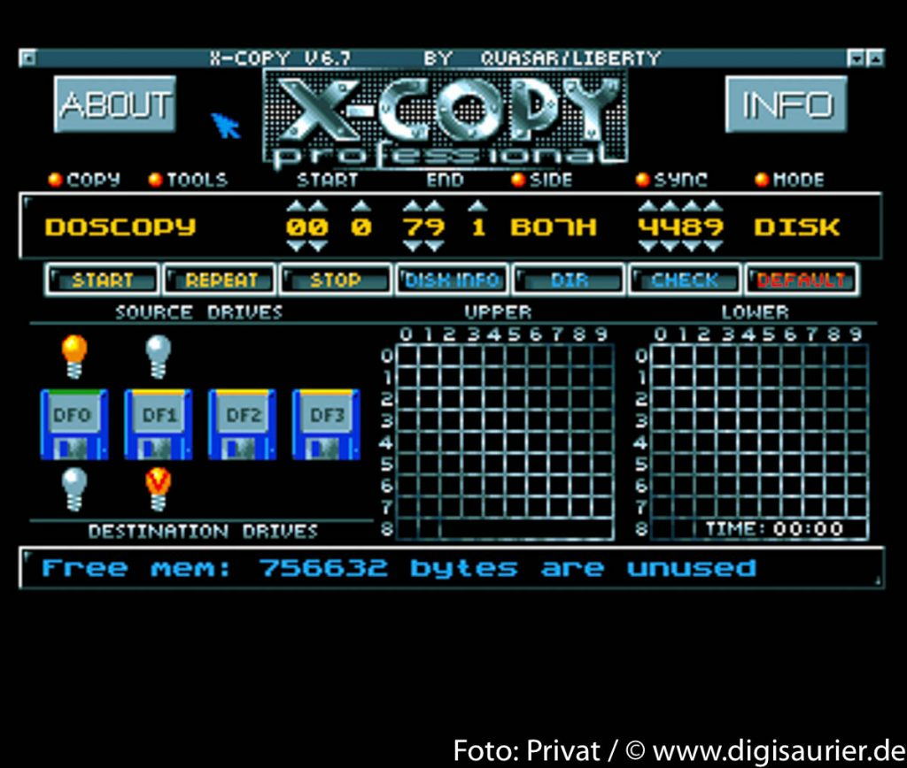 X-Copy: Das Kopierwerkzeug der Wahl eines jeden versierten Amiga-Anhängers.