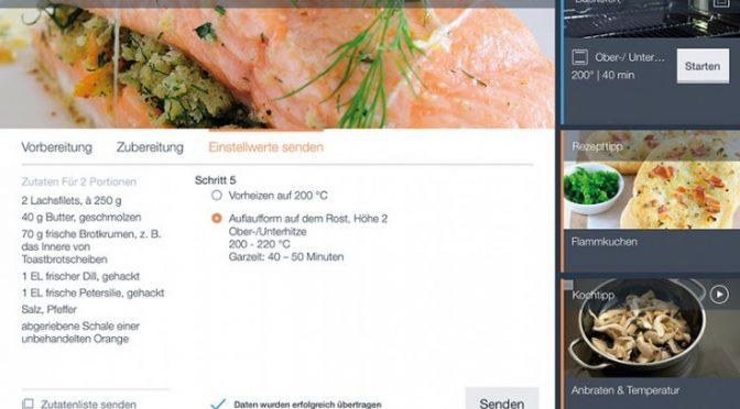 Die App für IQ7000-Geräte von Siemens