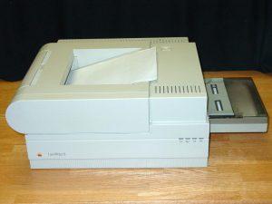 Apple Laserwriter II - der Traum aller Mac-User in jenen Jahren