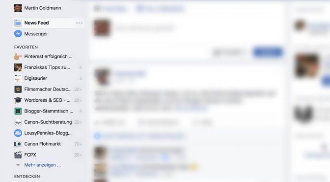 Zeitfresser Facebook: Wie ich Social Media besser nutzen will