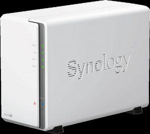 Ein NAS von Synology, mit dem die Familien-Cloud realisiert werden kann