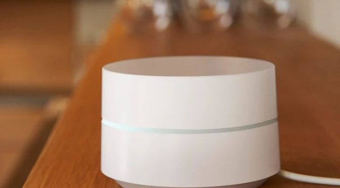 Wlan in der weißen Plastikdose - Google Wifi