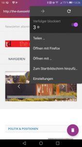 Firefox Klar, der vielleicht beste Browser für Android
