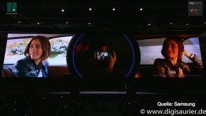 Zwei Blenden - Samsung S9 - MWC2018