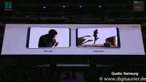 Zwei Kameras - Samsung S9+ - MWC2018