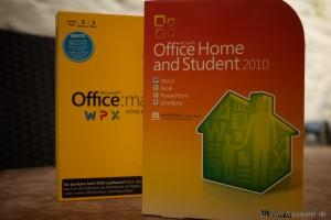 Zwei meiner vielen Office-Packages. Das ist jetzt Vergangenheit.