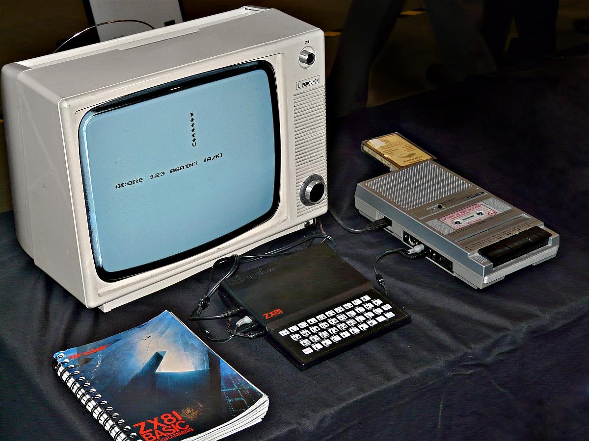 Der Sinclair ZX81 - der Computer, der am TV hing