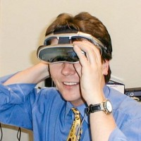 Christian Spanik mit 3D Brille