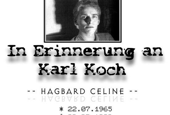 Karl koch aka Hagbard Celine