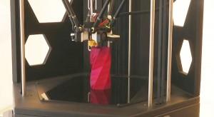 Vase im 3D-Drucker