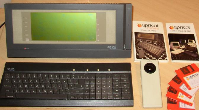Apricot Portable von 1984