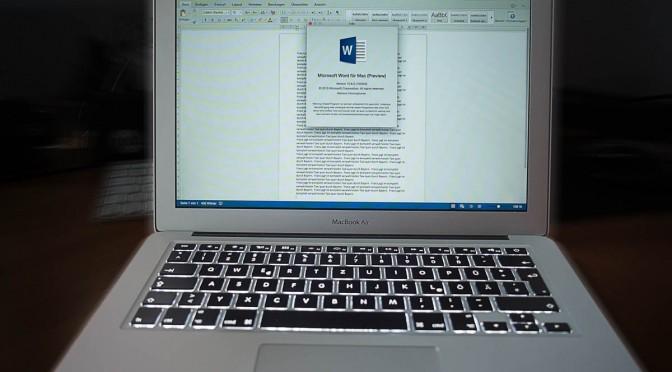 Wie Microsoft den Mac wieder entdeckt