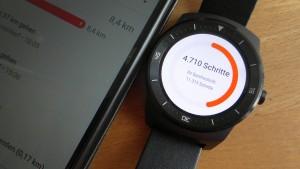 Smartwatch mit Google Fit