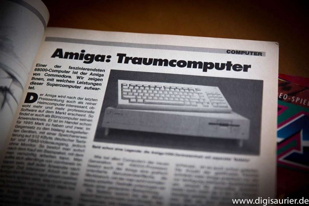 Ein Traumcomputer - das war der Amiga. (Aus dem Happy Computer Hardware-Test-Sonderheft 15)