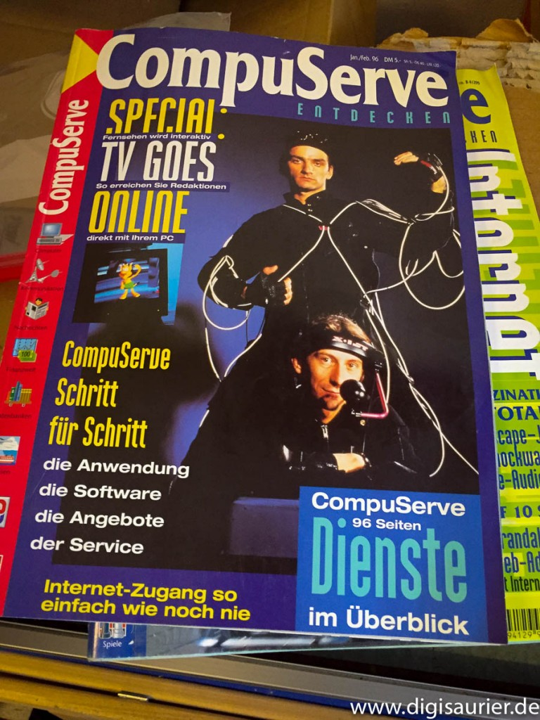 Ein altes Compuserve-Magazin von 1996