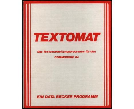 Der gute, alte Textomat