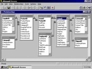 MS Access 95, das Beste aus allen Konkurrenzprodukten