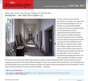 The Düsseldorfer, mein Online-Magazin