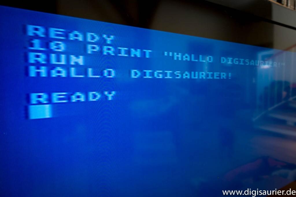 """""""Hallo Welt!"""" Kann jeder. Ich programmierte """"Hallo Digisaurier!"""""""