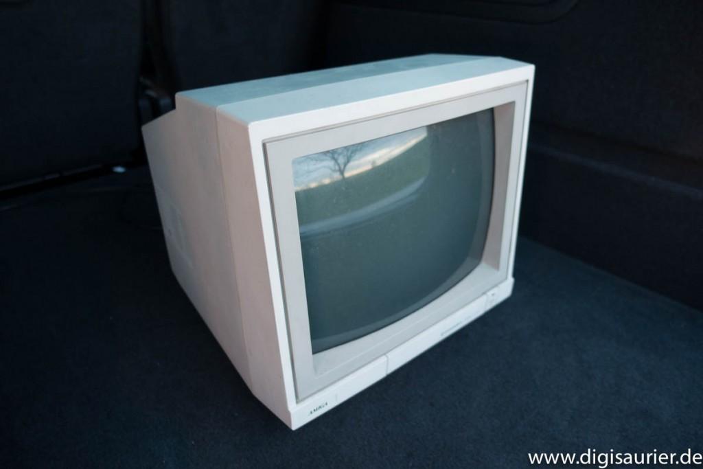 Da stand er: Der Amiga-Monitor, die Lösung eines großen Problems.