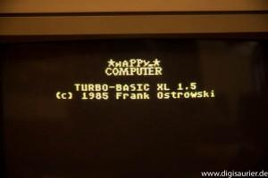Startbildschirm Turbo Basic XL