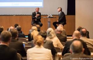 Diskussion bei der Navigationskonferenz