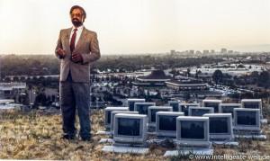 Shiraz Shivji über dem Silicon Valley (1 von 1)