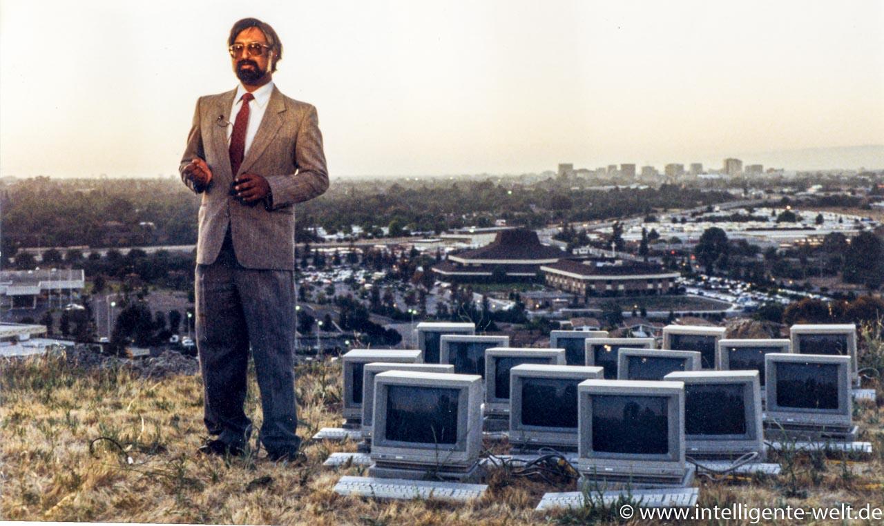 Shiraz Shivji über dem Silicon Valley