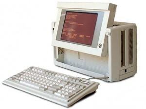 Compaq Portable III - einer der ersten im Kofferradio-Design