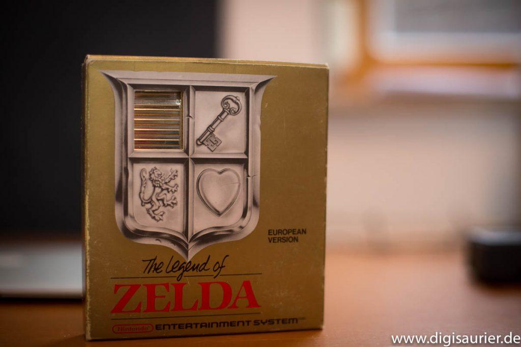 Zu teuer für einen Batterie-ersatz. Die Original Cartridge von Legend of Zelda.