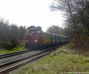 Borkumer Kleinbahn noch ganz analog - trotz Digitalisierung der Nordsee-Inseln. Nachdenken über die Reise von Neuland nach Digitalien