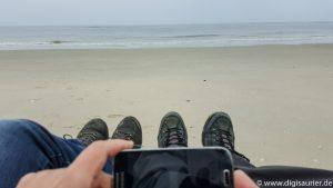 Ein Selfie für die Facebook-Gruppe - Digitalisierung der Nordsee-Inseln (1 von 1)