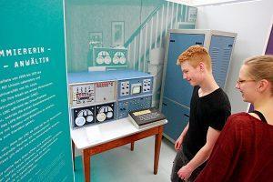 Ein Original-Exemplar des LINC ist in Paderborn zu sehen. (C) Jan Braun / Heinz Nixdorf MuseumsForum