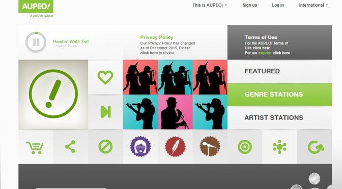 Musik nach Lust und Laune mit personal radio von Aupeo