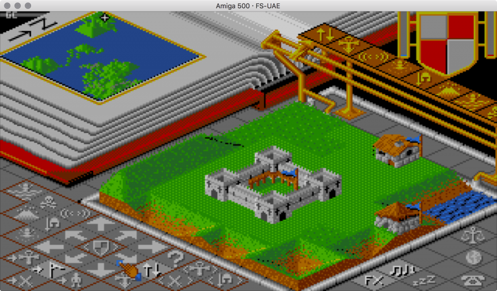 Populous - auch heute noch faszinierend. Und es läuft im Emulator.