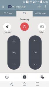 Quick Remote - die IR-Fernbedienung als App