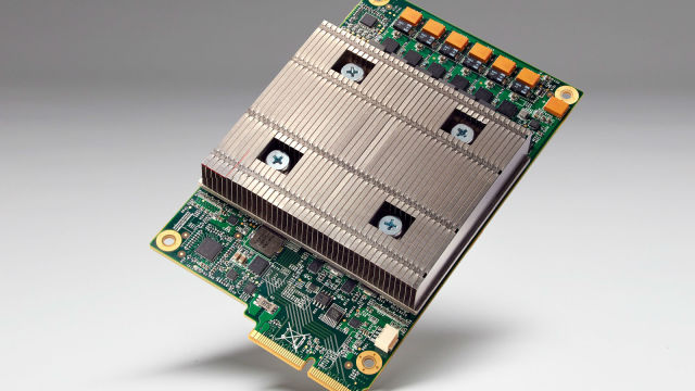 Google KI-Chip namens TPU