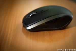 Eine moderne, drahtlose Logitech-Maus
